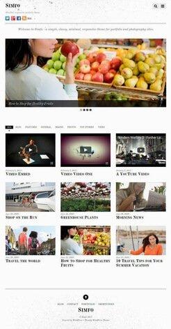Beispiel Mini-Webseite