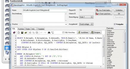 Abb.07: Fenster <em>Statistikmanager - Parameterfenster zum individuellen Filtern der Daten, für jede Statistik anpassbar